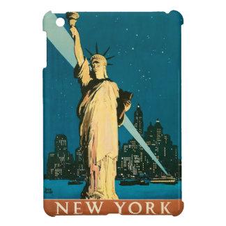 Mini vintage Nueva York del caso de Ipad en la noc iPad Mini Fundas
