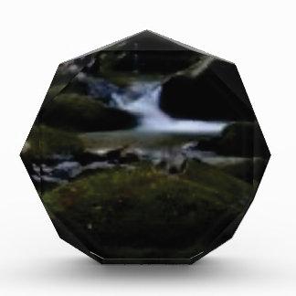 Mini waterfalls acrylic award