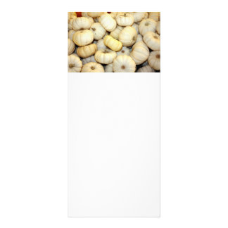 Mini White Pumpkins Personalized Rack Card