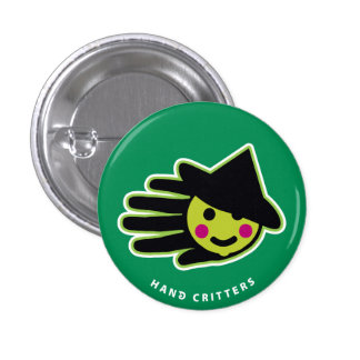 Mini Witch Pinback Buttons
