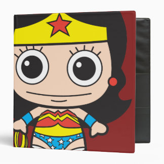 Mini Wonder Woman 3 Ring Binder