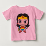 Mini Wonder Woman Baby T-shirt at Zazzle