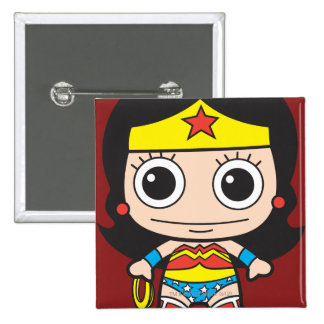 Mini Wonder Woman Button