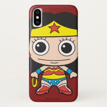 Mini Wonder Woman iPhone X Case