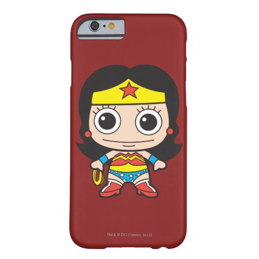 Mini Wonder Woman Barely There iPhone 6 Case