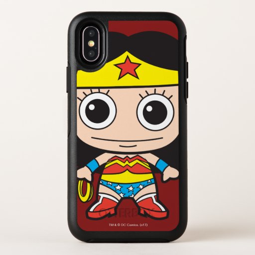 Mini Wonder Woman OtterBox Symmetry iPhone X Case