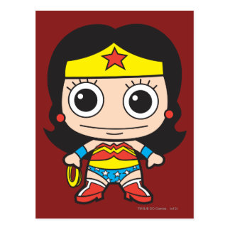 Mini Wonder Woman Postcard