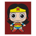 Mini Wonder Woman Poster