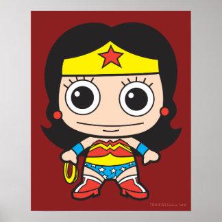 Mini Wonder Woman Poster
