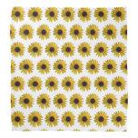 Mini Yellow Sunflowers Bandana