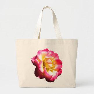 Miniatura color de rosa americana 038 de la socied bolsa tela grande