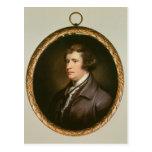 Miniatura de Edmund Burke, 1795 Tarjeta Postal