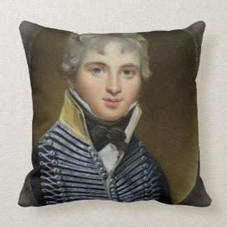 Miniatura de Guillermo Howe de Lancey (d.1815), Cojín