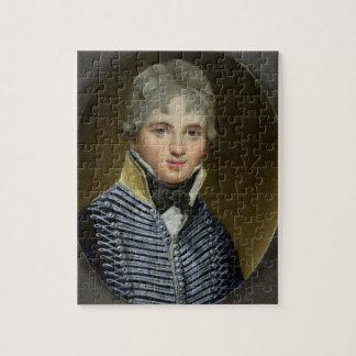 Miniatura de Guillermo Howe de Lancey (d.1815), ma Rompecabezas
