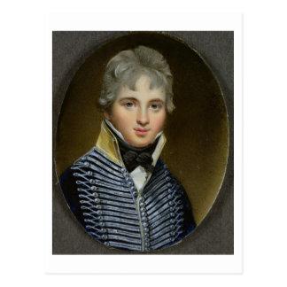 Miniatura de Guillermo Howe de Lancey (d.1815), Postal