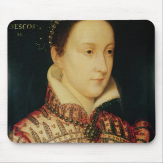 Miniatura de la reina de Maria de escocés c 1560 Tapetes De Ratones
