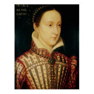 Miniatura de la reina de Maria de escocés, c.1560 Postal