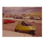 Miniatura del coche eléctrico 1973 tarjetas postales