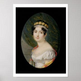 Miniatura del retrato de la emperatriz Josephine ( Póster