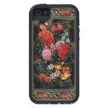 Miniatura floral de gran colorido del arte persa iPhone 5 carcasas