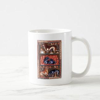 Miniatura medieval de Bestiarium del bestiario del Taza Clásica