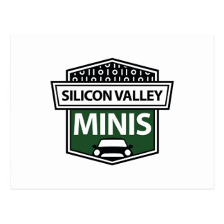 Miniaturas de Silicon Valley - postal verde del lo