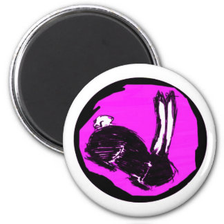Miniaturas del logotipo de Blackrabbit Imán De Nevera