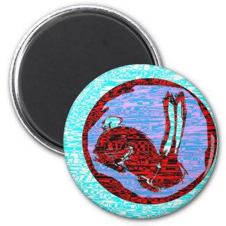 Miniaturas del logotipo de Blackrabbit Imán