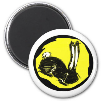 Miniaturas del logotipo de Blackrabbit Imanes De Nevera