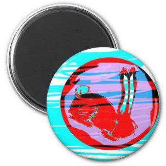 Miniaturas del logotipo de Blackrabbit Imán Para Frigorífico