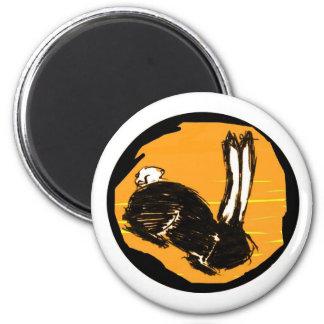 Miniaturas del logotipo de Blackrabbit Iman Para Frigorífico