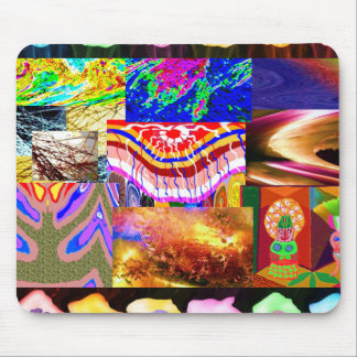 Miniature ART Collage : Ideal GIFT Collection Mouse Pad