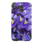 Miniature Blue Irises Spring Floral Case For Galaxy S5
