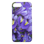 Miniature Blue Irises Spring Floral iPhone 7 Case