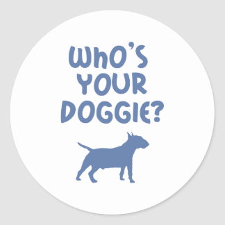 Miniature Bull Terrier Sticker