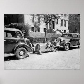 Miniature Car, 1937 Posters