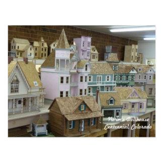Miniature Dollhouse Heaven Postcard