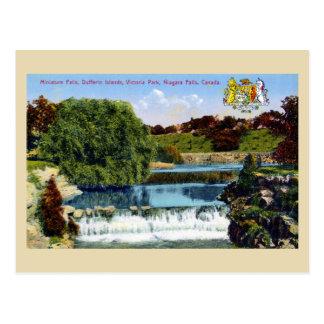 Miniature falls, Dufferin Islands, Niagara Falls Postcard