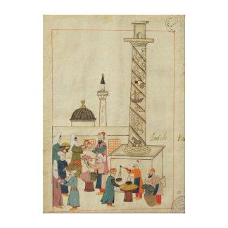 Miniature from the 'Memorie Turchesche' Canvas Print