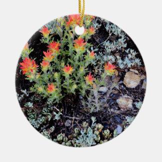 Miniature Garden at Gem Lake Ceramic Ornament