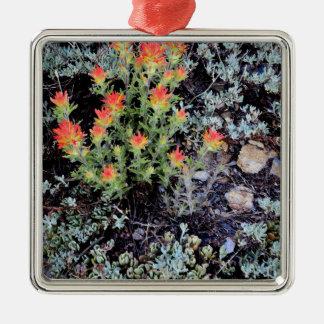Miniature Garden at Gem Lake Metal Ornament