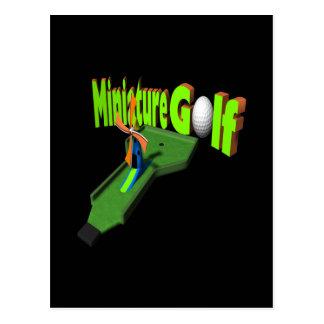 Miniature Golf Postcard