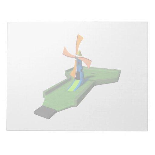 Miniature Golf Scratch Pad