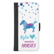 Miniature Horses iPhone Wallet