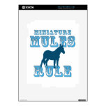 Miniature Mules Rule Decals For iPad 2