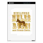Miniature Mules Rule Horses Drool iPad 2 Decals