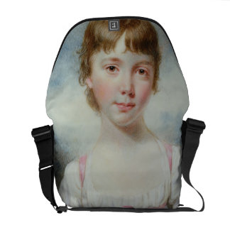 Miniature of a young girl courier bag