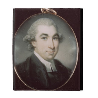 Miniature of an Unknown Clergyman iPad Folio Covers