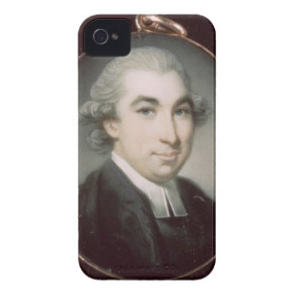 Miniature of an Unknown Clergyman iPhone 4 Case-Mate Case