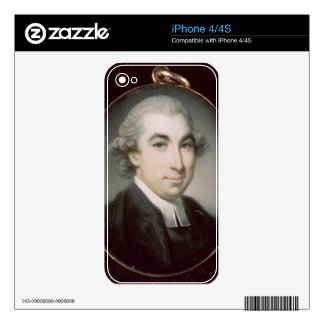 Miniature of an Unknown Clergyman iPhone 4S Skin